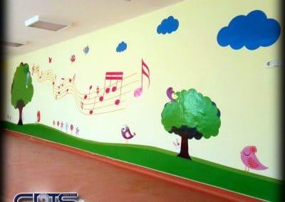 брандиране на стени