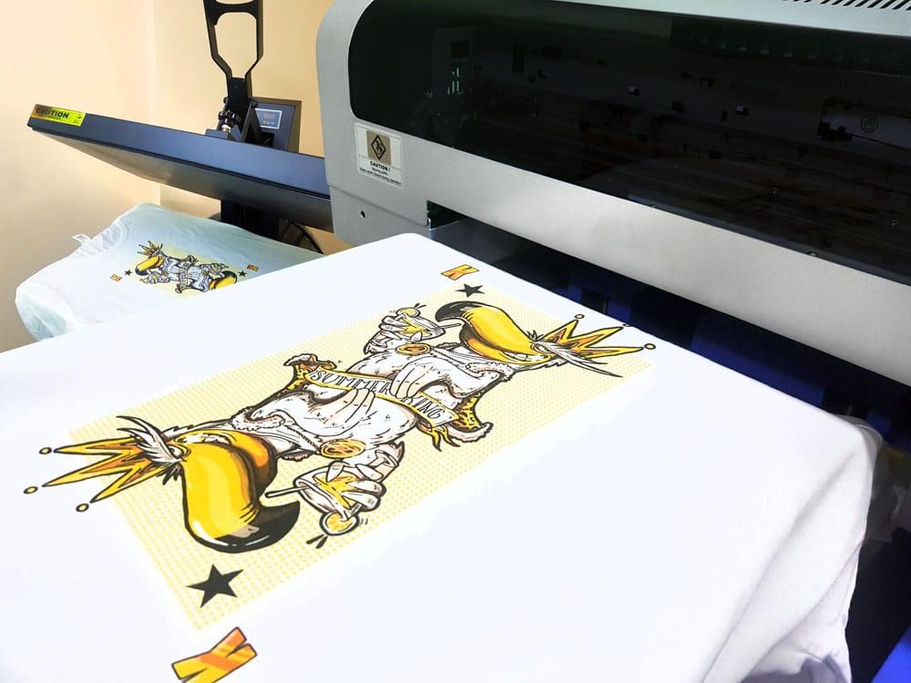 печат върху текстил