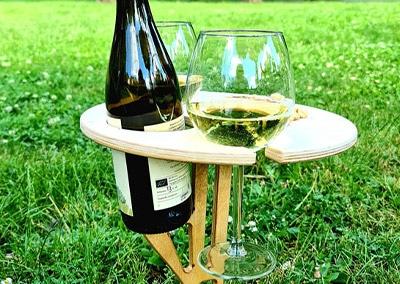 Дървена маса за пикник и плаж